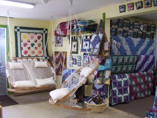 Quilts By Long Meadow Farms Cobble Mountain Hammock Chairs